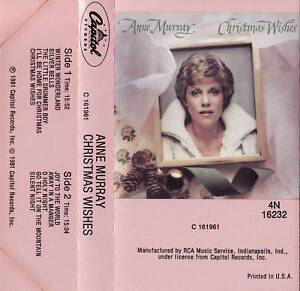 ANNE-MURRAY-CHRISTMAS-WISHES-CASSETTE-1981-capitol