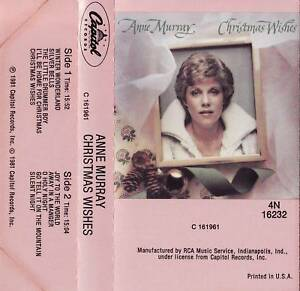 ANNE-MURRAY-034-CHRISTMAS-WISHES-034-CASSETTE-1981-capitol