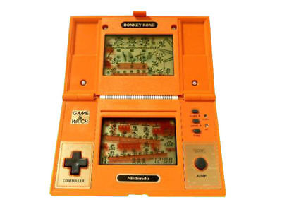 USED Nintendo Game & Watch DONKEY KONG no Lid JAPAN GW G and W