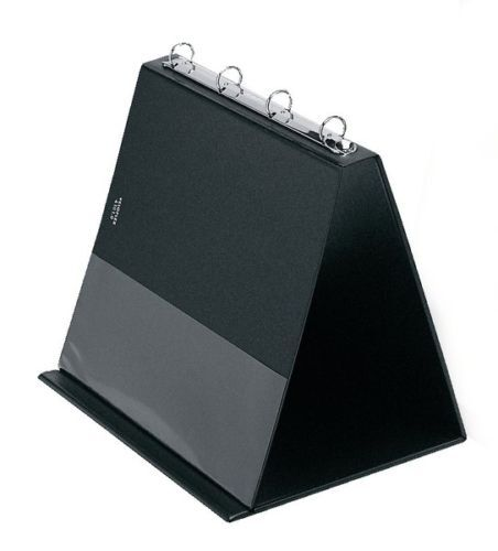 Veloflex Tischflipchart Präsentationsringbuch A4 quer Flip Chart schwarz