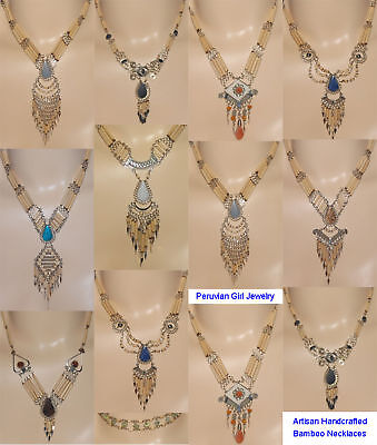 4 NECKLACES WOW POW SOUTH WEST RODEO COWGIRL JEWELRY
