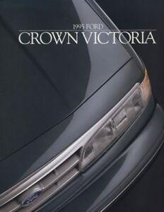 1995-Ford-Crown-Victoria-Sales-Brochure-Book-VG-Sedan