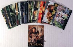 LORD-OF-THE-RINGS-UPDATE-ED-72-Card-Set-RETURN-KING