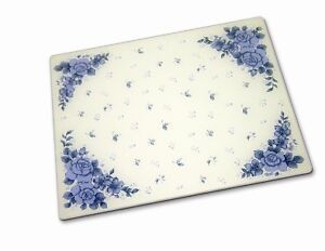 CORELLE-BLUE-VELVET-15-x-12-GLASS-COUNTER-SAVER-BOARD