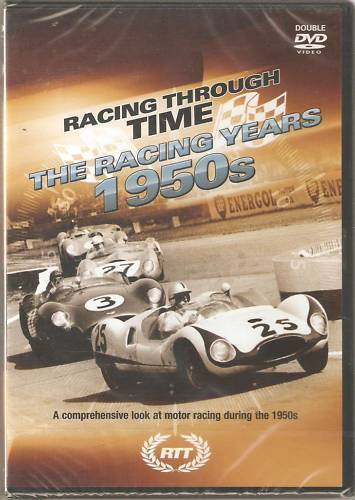 THE RACING YEARS 1950s DVD RACING THROUGH TIME