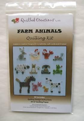 Quilling Kit: Farm Animals