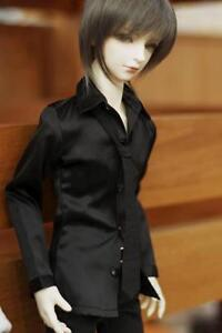 529# Black Satin Shirt/Outfit 1/4 MSD DOD BJD Dollfie