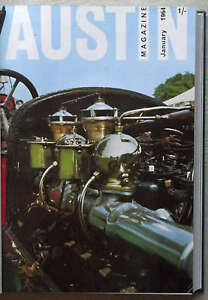 AUSTIN-Owners-12-Car-MAGAZINES-Bound-Volume-1964