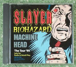 slayer biohazard machine head the tour 95 cd. Black Bedroom Furniture Sets. Home Design Ideas