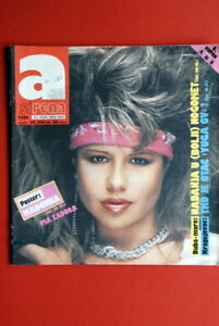 PIA-ZADORA-ON-COVER-1985-VERY-RARE-EXYU-MAGAZINE