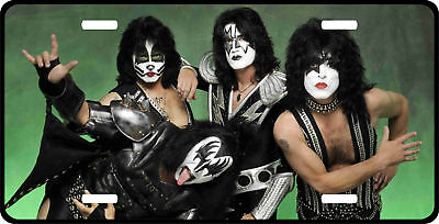 KISS License Plate ( Awesome