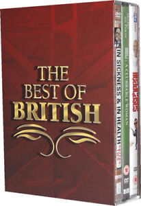 Best Of British Classic TV Comedy Drama Boxset DVD New