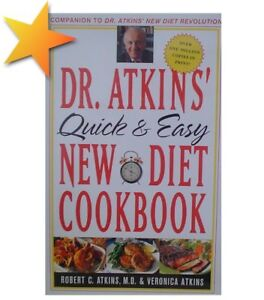 Dr. Atkins' Quick & Easy New Diet Cookbook WT24489