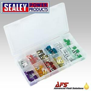 Sealey-Mini-Car-Blade-Fuse-Kit-100-Piece-BCF100