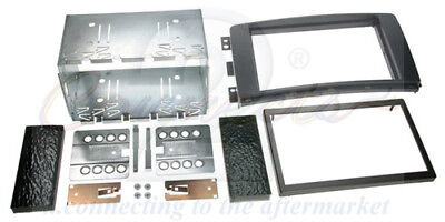 Smart ForTwo 2007 on Car Stereo Double Din Radio Facia Fitting Kit CT23MM01