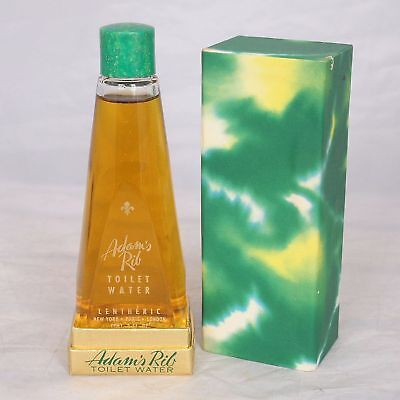 Vintage Lentheric Adams Rib 2 Oz Eau De Toilette