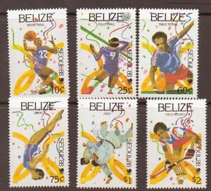 BELIZE-SG1038-43-1988-OLYMPIC-GAMES-MNH