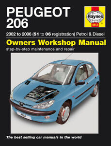 Haynes-Workshop-Repair-Manual-Peugeot-206-01-06-4613