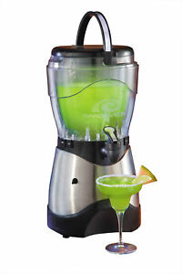 MARGARITA MAKER ~ 128 oz. FROZEN ALCOHOL DRINK MACHINE ~ STAINLESS STEEL HSB-590