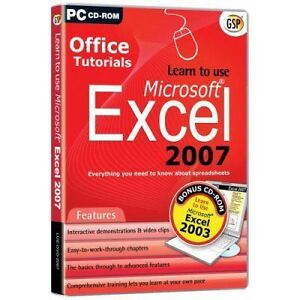 LEARN-TO-USE-EXCEL-2003-2007-TUTOR-TRAINING-NEW