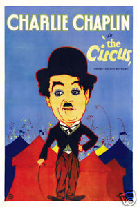 The-circus-Charlie-Chaplin-vintage-movie-poster
