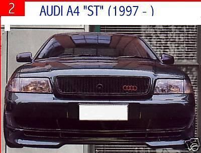 Audi A4 Lower Fibreglass Lip Kit Bodykit