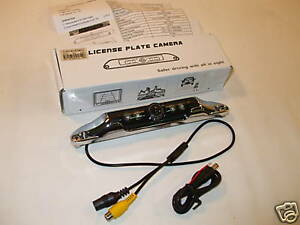 LICENSE-PLATE-REAR-VIEW-BACKUP-NIGHT-VISION-IR-CAMERA