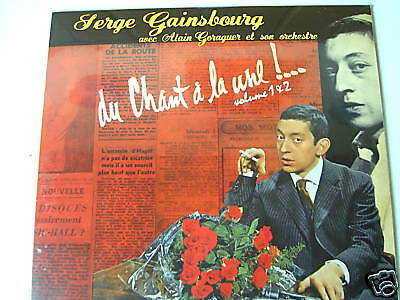 Serge Gainsbourg LP Du chant a la lune! Vol: 1+2  NEW-OVP
