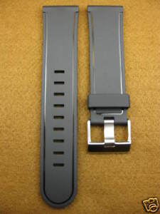 24mm-Soft-Rubber-Diver-Strap-Band-Fit-PANERAI-XL-Large