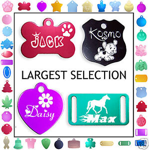 DOUBLE-SIDED-Custom-engraved-Dog-Tag-Cat-Pet-ID-Tags
