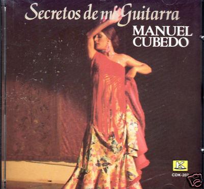 Manuel Cubedo Secretos De Mi Guitarra Brand Sealed Cd