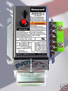 cad cell relay wiring diagram honeywell r8184m1051 cad cell relay / 40va transformer | ebay