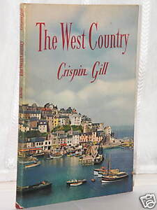 Crispin-Gill-The-West-Country-1st-Edition-1962-hb-dj
