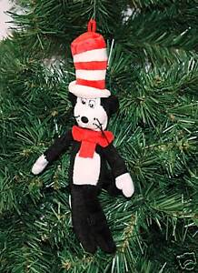 image is loading cat in the hat dr seuss christmas ornament