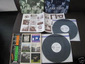 Pink-Floyd-Nice-Pair-Japan-Promo-WL-Odeon-LP-OBI-Syd