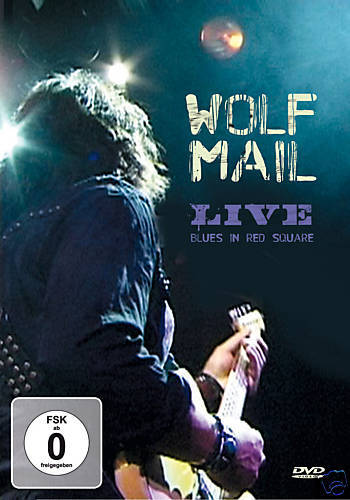 DVD Wolf Mail Live Blues In Red Square