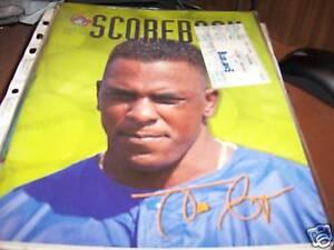 Toronto-Blue-Jays-1997-Scorebook-w-ticket-Juan-Guzman