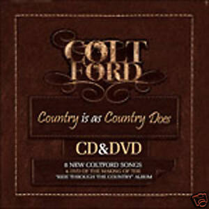 Colt-Ford-Country-Is-As-Country-Does-CD-DVD-New-FREE-Super-Fast-Shipping