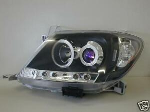 TOYOTA-HILUX-2005-2011-ALTEZZA-PROJECTOR-HEADLIGHTS-BLACK-L-E-D-ALL-NEW-PARTS