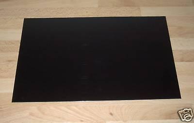 1 Hart PVC Modellbau Platte schwarz 320x210x3mm