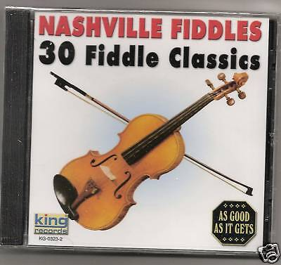 Nashville Fiddles, Cd 30 Fiddle Classics Sealed