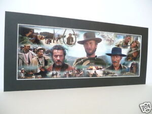 THE GOOD, THE BAD & THE UGLY PRINT - Clint Eastwood
