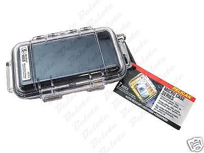 Pelican Micro Case Black Clear 1015 6.7 X 3.9 X 1.9 on Sale
