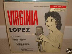 Virginia Lopez - Vol. 3 - Rare LP in Fair Conditions