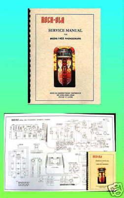 Rock-Ola 1422 Manual & Wiring Diagram