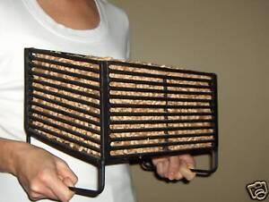 Wood Pellet Basket Insert for Wood Stoves, Burn Wood ...