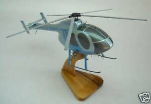 MD-500-N-Glendale-Police-Douglas-MD500-Helicopter-Wood-Model-Replica-Large