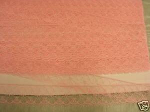 Flat Lace Pink - 20 metres (3832)