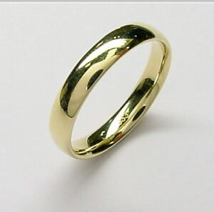 Goldring matt  NEU! Echt 333 GOLD Ring Goldring Gelbgold matt od glanz Größe 50 ...