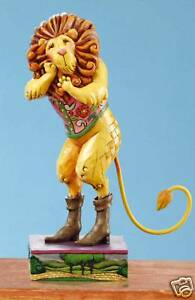 Jim Shore Heartwood Creek Wizard of Oz Cowardly Lion NEW 12286